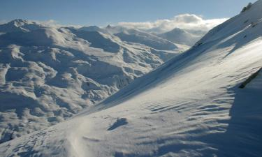 Serviced apartments in Valloire