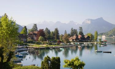 Hotels with Parking in Talloires