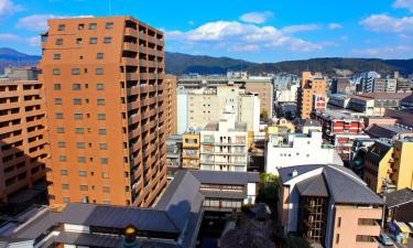 福島市の駐車場付きホテル