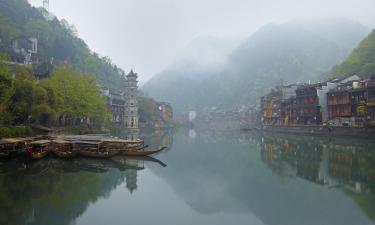 Варианты проживания в семье в городе Фэнхуан