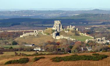 Hotels with Parking in Corfe Castle