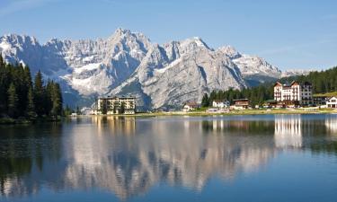 Resorts de esquí en Misurina