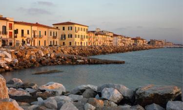 Lägenheter i Marina di Pisa