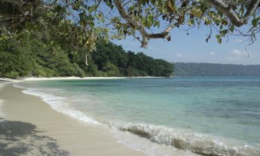 Resorts in Havelock Island