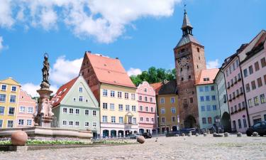 Hotels with Parking in Landsberg