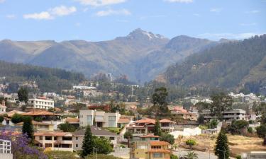 Hotéis com estacionamento em Cumbayá