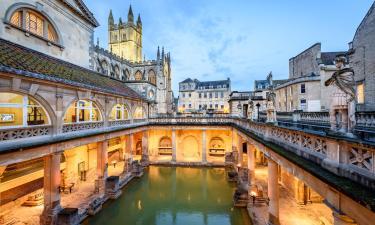Spa hotels in Bath