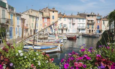Hôtels près de la Plage à Martigues