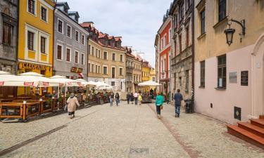Apartamenty w mieście Lublin