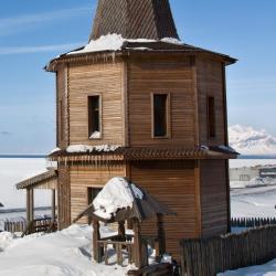 Barentsburg ホテル2軒