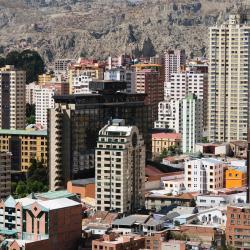 La Paz 270 hoteles