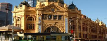 Hotell i Melbournes centrum