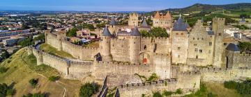 Hotels in Carcassonne's Medieval City