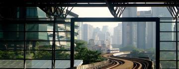 Hotels in KL Sentral Train Station