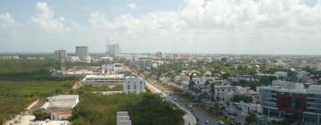 Hotellit kaupunginosassa Cancúnin keskusta