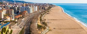 Hoteles en Playa de Calella