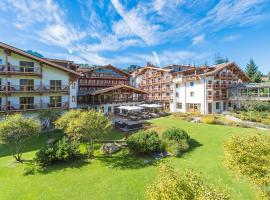 Kitzhof Mountain Design Resort 4 Sterne Superior, golf hotel in Kitzbühel