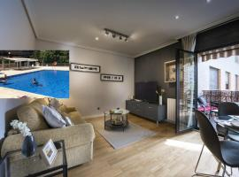 Premium luxury city center apartment, hotel with pools in Madrid