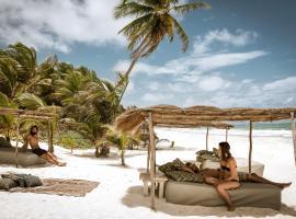 Be Tulum Beach & Spa Resort, hotel cerca de Centro Ecológico Sian Ka'an, Tulum