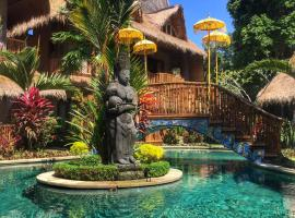 Bali Bohemia Huts, resort village in Ubud