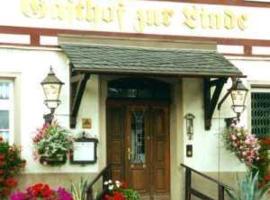 Hotel Gasthof zur Linde, Hotel in der Nähe von: Burg Scharfenstein, Weißbach
