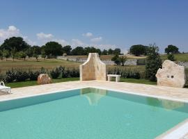 Masseria Peppeturro, country house in Cisternino