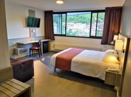 Jura Hotel Restaurant Le Panoramic, hotel in Saint-Claude