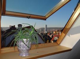 attraktives 2-Zimmer-Apartment mit Ausblick, Hotel in der Nähe von: Carl Zeiss Jena, Jena