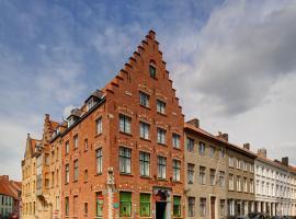 Hotel Jacobs Brugge, hotel in Bruges