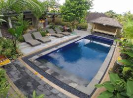 Lucky Family Cottage, hotel romantico ad Ubud
