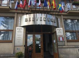 Hotel Belvedere Příbram, hotel v Příbrami