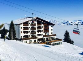 Ehrenbachhöhe on Top of the Mountain, hotel v Kitzbuhelu