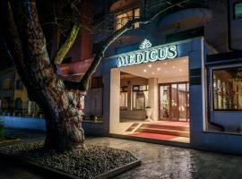 SPA Hotel Medicus, hotel Varsecben