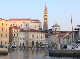 Hostel Adriatic Piran, hotel v mestu Piran