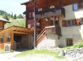 Café Pension Muntanella, hotel near Viamala Canyon, Wergenstein