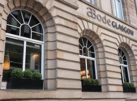 ABode Glasgow, boutique hotel in Glasgow