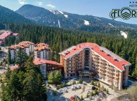 Flora Hotel - Apartments, hotel Borovecben