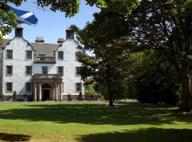 Prestonfield House, hotel near Dalhousie Castle, Edinburgh