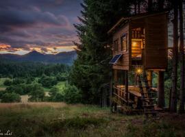 Tree House Gorski Lazi, lodge in Tršće