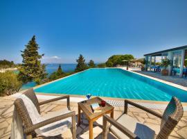 Glyfada Beach Villas, resort village in Longos