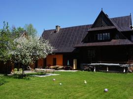 Holiday Home Patchwork Barn, accessible hotel in Zakopane