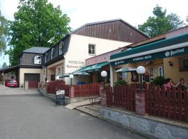 Pension Rybářská Bašta, hotel v Jablonci nad Nisou