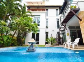 Tropical Garden Paradise Villa, hotel in Na Jomtien