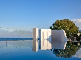 Incognito Beach Villa Santorini, hotel in zona Spiaggia di Monolithos, Kamari