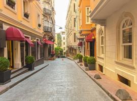Meroddi Pera Flats, жилье для отдыха в Стамбуле