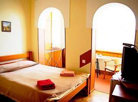Malvy hotel: Truskavets şehrinde bir otel