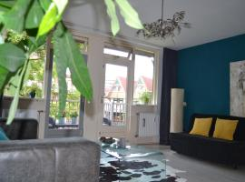 Hidden center apartment with free parking, apartment in Rotterdam