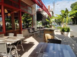 Hotel Café de la Gare, hôtel à Sainte-Foy-la-Grande