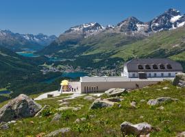 Romantik Hotel Muottas Muragl, hotel in zona St. Moritz - Corviglia, Samedan