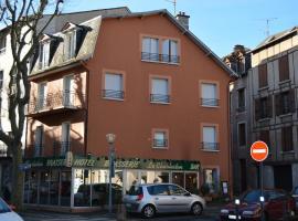 Hotel Le Charleston, hotel in Rodez